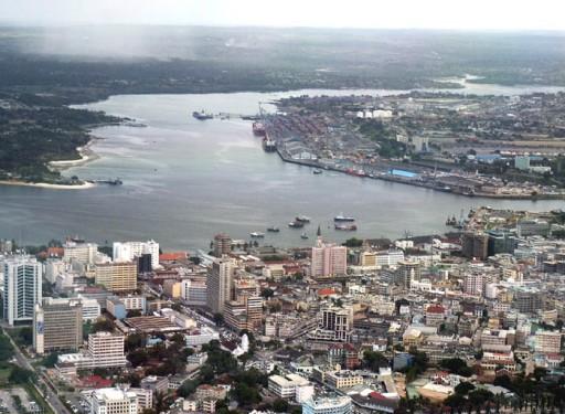 Dar-Es-Salaam i Tanzania.