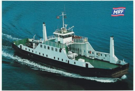 Fergefarten på Nordmøre ga nye inntrykk og opplevelser etter årene i utenriks sjøfart.