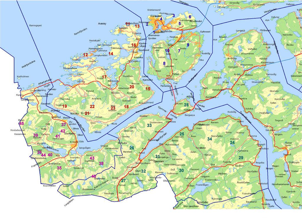 kart over averøya Gårdene Skarset og Afset på Averøy Nordmøre for 200 år siden. Fra  kart over averøya